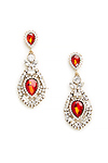 DAILYLOOK Jessica Rabbit Jeweled Earrings