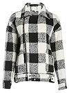 J.O.A. Woolen Checkered Jacket