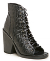 Finder's Keepers Hitched Lace Up Booties