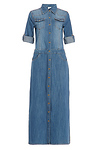 Alice Walker Denim Midi Dress
