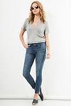 Joe's Jeans Lyndi Mid Rise Skinny Ankle Jeans