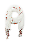 Spun by Subtle Luxury Aztec Embroidery Scarf