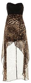 Wild High-Low Maxi Dress