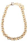 Round Chain Link Necklace