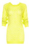 Neon Net Sweater
