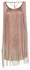 Studded Fringe Flapper Dress