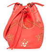 Tribal Cutout Bucket Bag