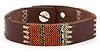 Threaded Leather Bracelet