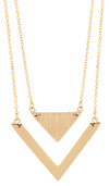 DAILYLOOK Love Triangles Necklace