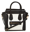 DAILYLOOK Mini Structured Handbag