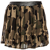 Pleated Camo Skirt