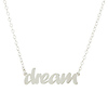 Sterling Silver Dream Necklace