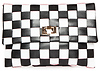 Checkered Woven Clutch