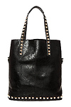 Textured Studded Tote