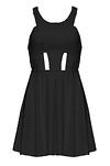 Futuristic Cutout Dress