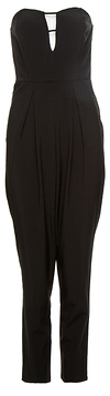 Strapless Tailored Jumpsuit