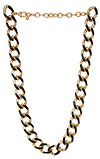 DAILYLOOK Lovely Lacquered Chain Necklace