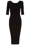 DAILYLOOK Powerful Bodycon Midi Dress