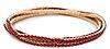 Delicate Rhinestone Bracelet Set