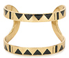 House of Harlow 1960 Three Caves Cuff Bracelet