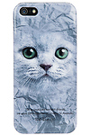 Cat Face iPhone 5/5S Case