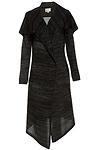 Long Shawl Collar Knit Cardigan