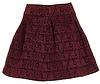 Baroque Bandage Circle Skirt