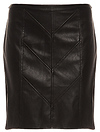 MINKPINK Take Me There Leatherette Skirt