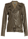 Lucca Couture Vegan Leather Moto Jacket