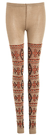 Knitted Tribal Leggings