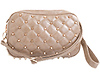 Quilted and Stud Clutch