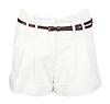 Pleated Cuff Classic Shorts