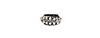 Glam Rock n Chain Cuff Bracelet