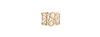 Web Cut Out Stone Bracelet