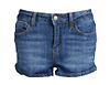Medium Rinse Denim Shorts