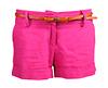 Linen Cuff Shorts