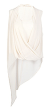 Fold Over Draped Top