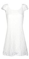 Dainty Floral Lace Dress