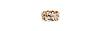 Gaudy Woven Rhinestone Link Bracelet