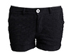 Eyelet Cuffed Shorts