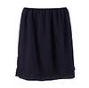 Navy Pleated Skirt