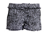 Boucle Tweed Fringed Shorts