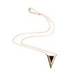 Bermuda Triangle Necklace