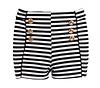 Striped Hot Pants