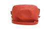 Seamed shoulder bag