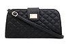 Quilted Twist Lock Clutch