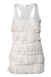Tiered Lace Sleeveless Top