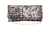 Metallic Rhinestone Clutch