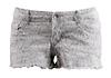 Snake Print Denim Shorts