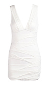 Deep V Neck Bandage Dress